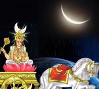 Chandra grah image.grahnakshatra